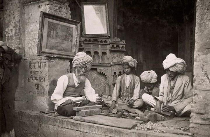 A RARE photograph taken in 1921 in Amritsar, India