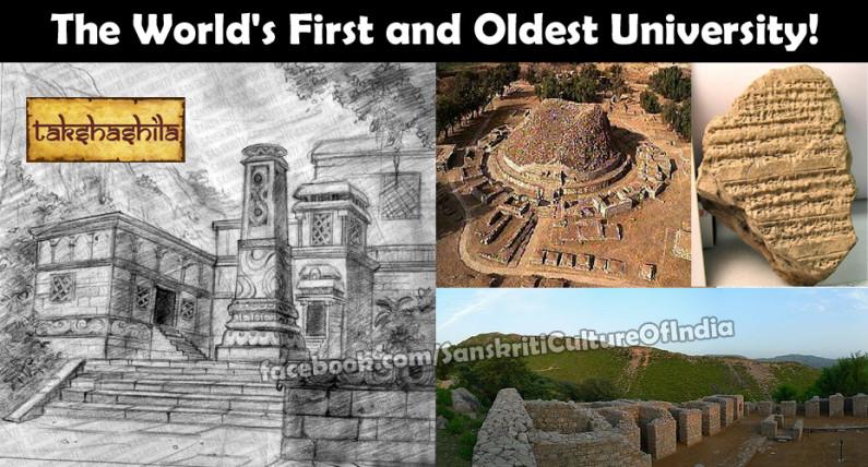 Takshashila – The World's First and Oldest University!