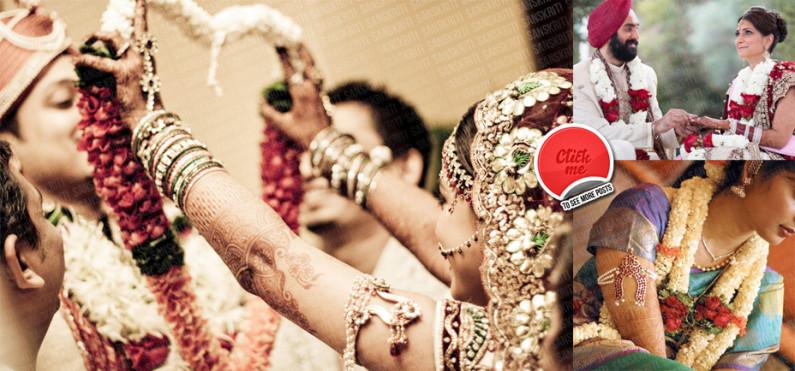 Significance of Garlands (Var-mala) in Indian Wedding Ceremonies