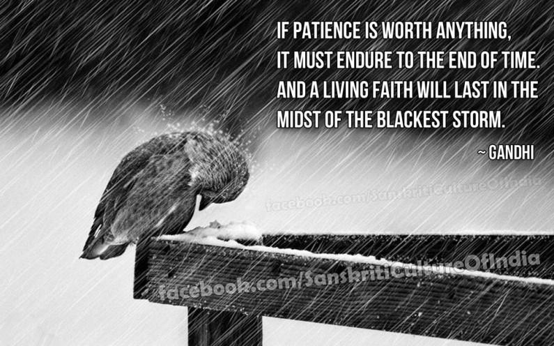 Faith Under the Blackest Storm