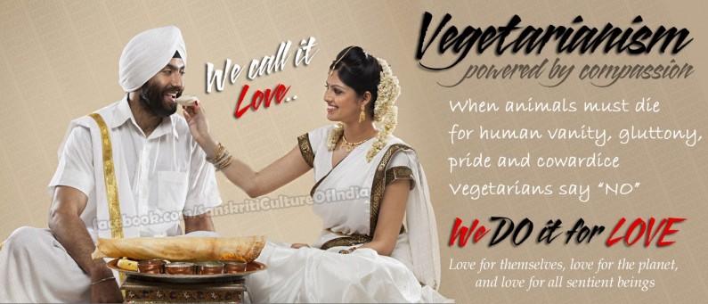 Vegetarianism – We call it love