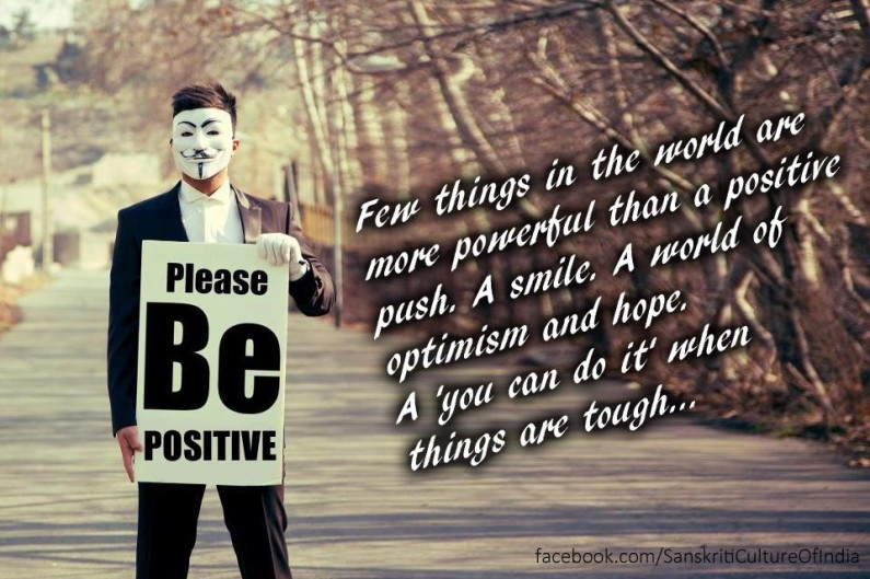 Please Be Positive