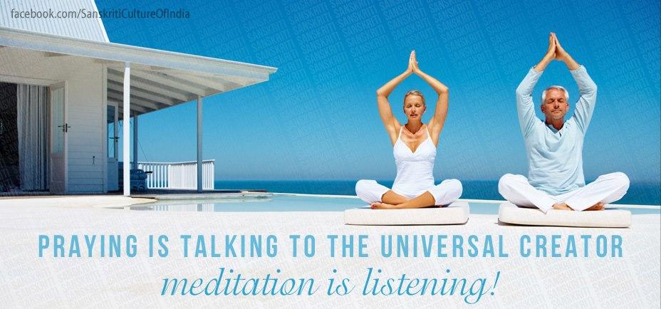 Meditation is Listening