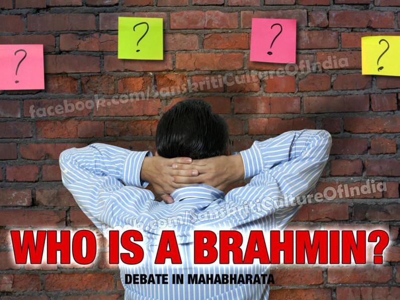 Who is a Brahmin?
