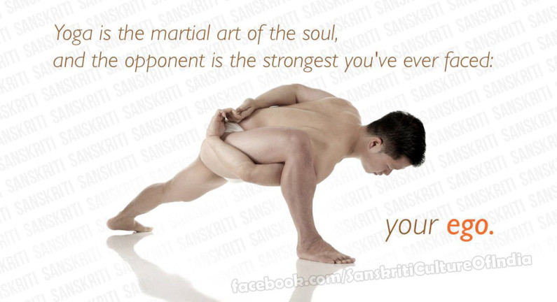 Yoga is the martial art of the soul