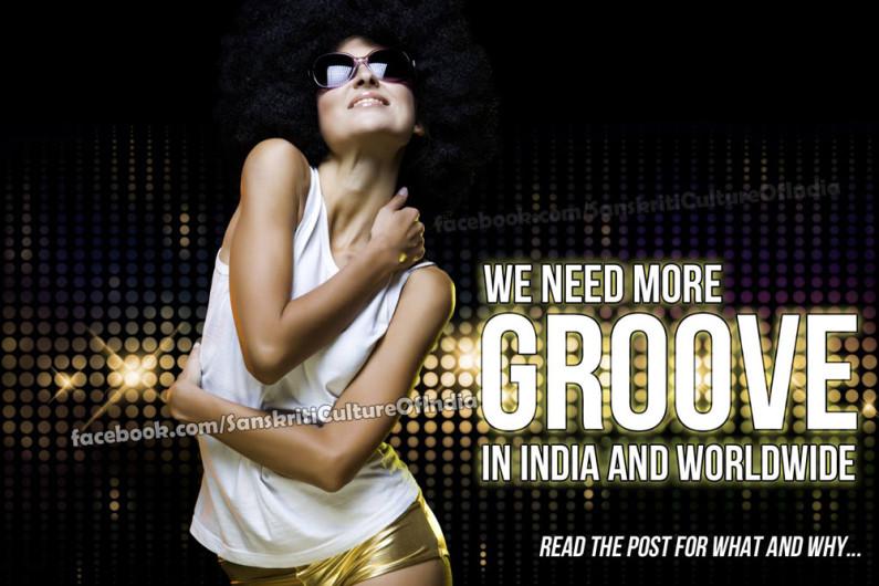 We need more GROOVE worldwide