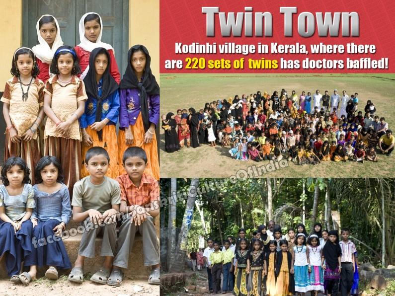 The twin town of Kerala, India