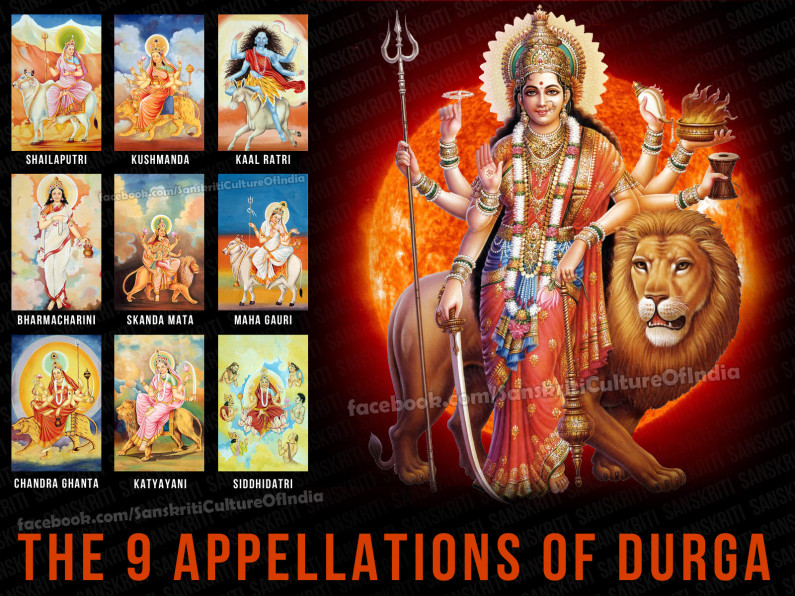 The 9 Appellations of Durga