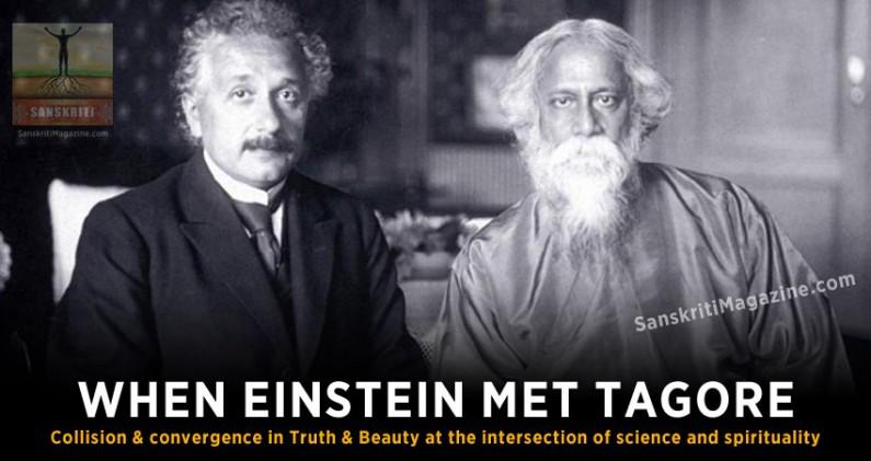 When Einstein Met Tagore