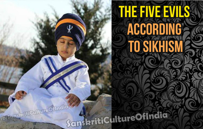 Five Evils according to Sikhism