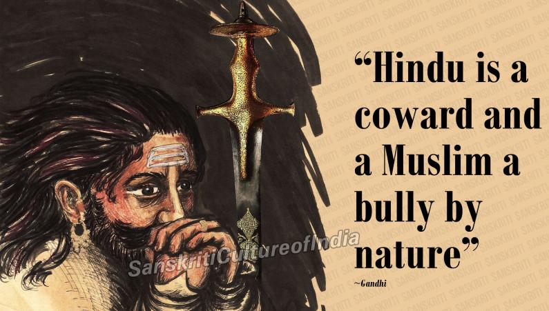 Hindu is a Coward