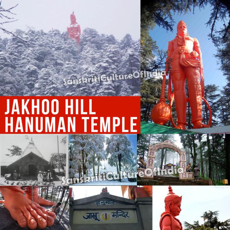 Jakhoo Hill Hanuman Temple, Simla