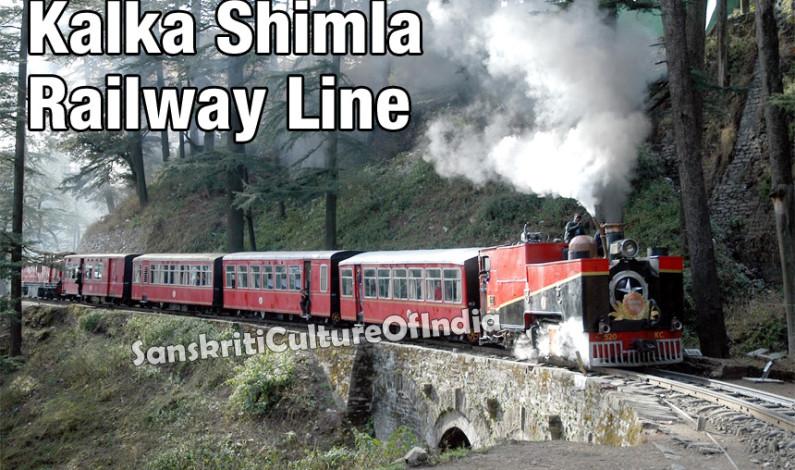 Kalka Shimla Railway Line