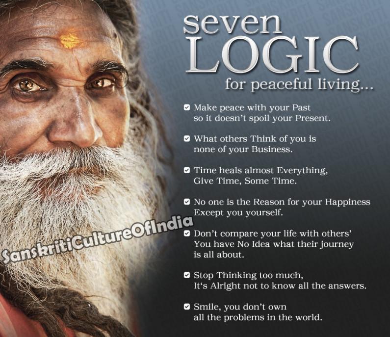 Seven Logic for Peaceful Living