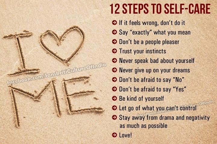 12 Steps to Self-Care