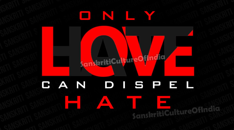 Only Love Can Dispel Hate