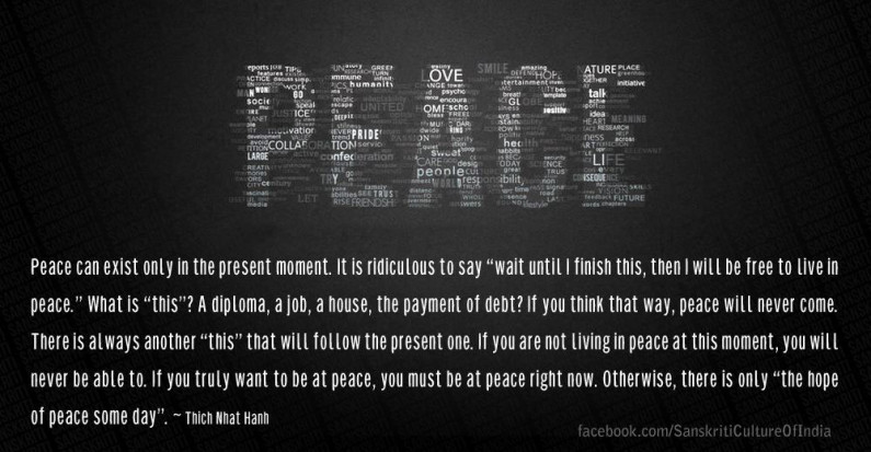 Peace – Give It A Chance