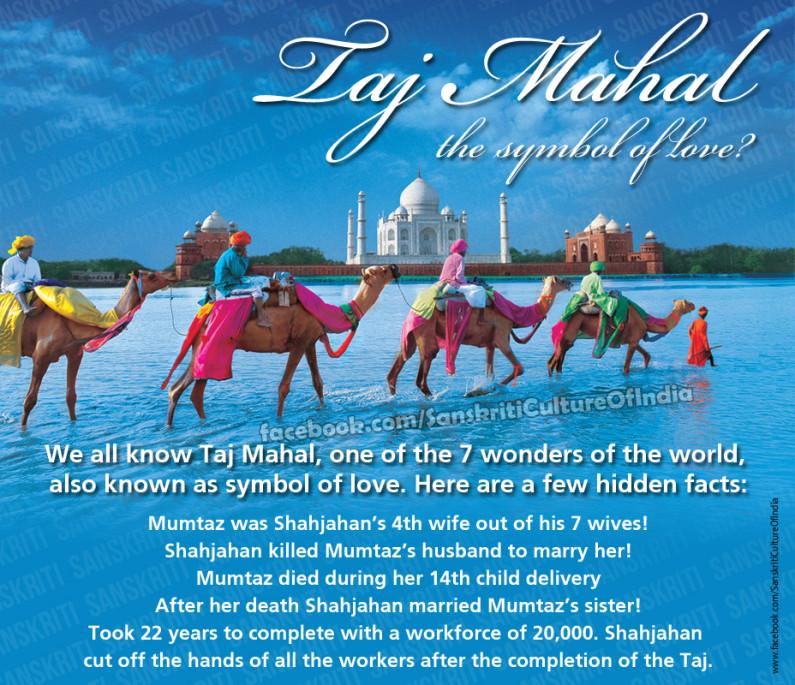 Taj Mahal – The Symbol of Love?