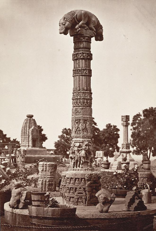 Sculptures near Teli Mandir