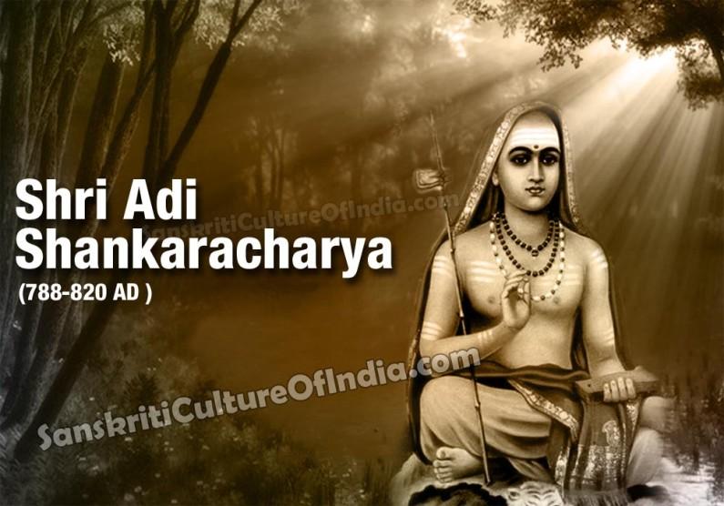 Shri Adi Shankaracharya (788-820 AD)