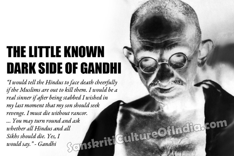 The Little Known Dark Side of Gandhi