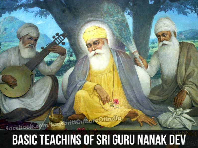 Basic Teachings of Guru Nanak Dev