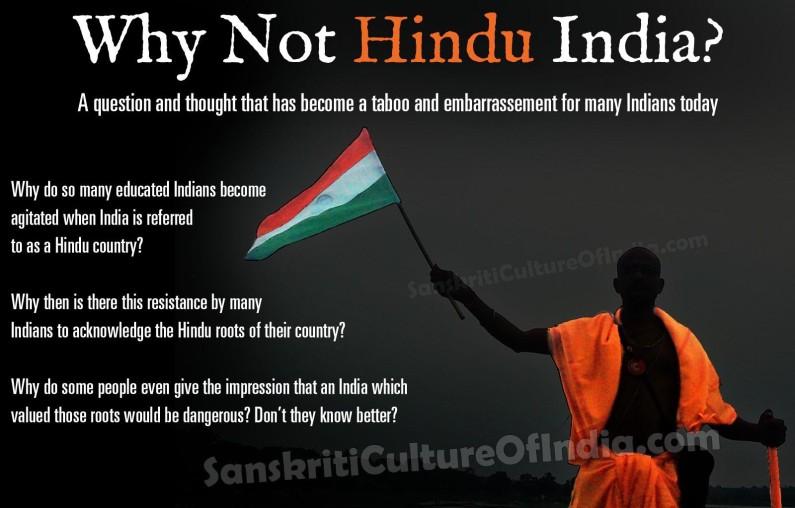 Why Not Hindu India?