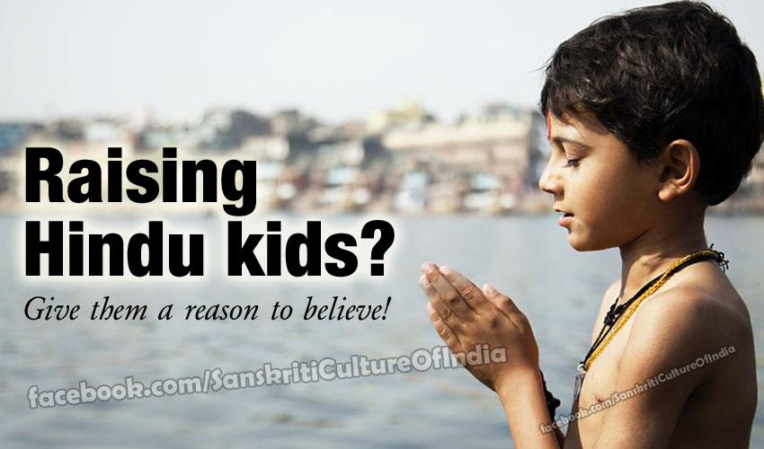 hindu kids