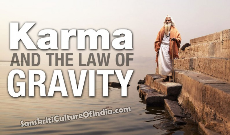 Karma and the Law of Gravity
