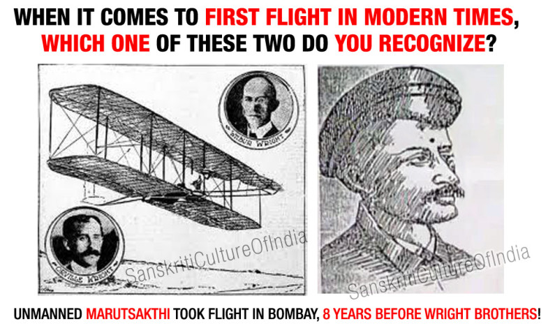 Vedic Vimanas – 8 Years Before the Wright Brothers