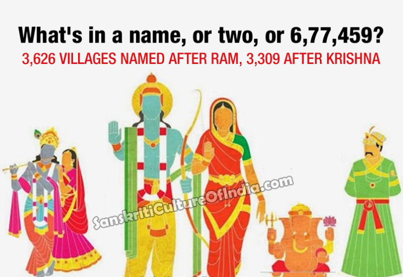How India names its villages
