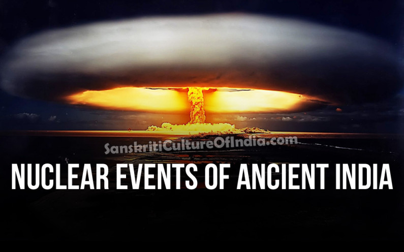 Nuclear Events in Ancient India?