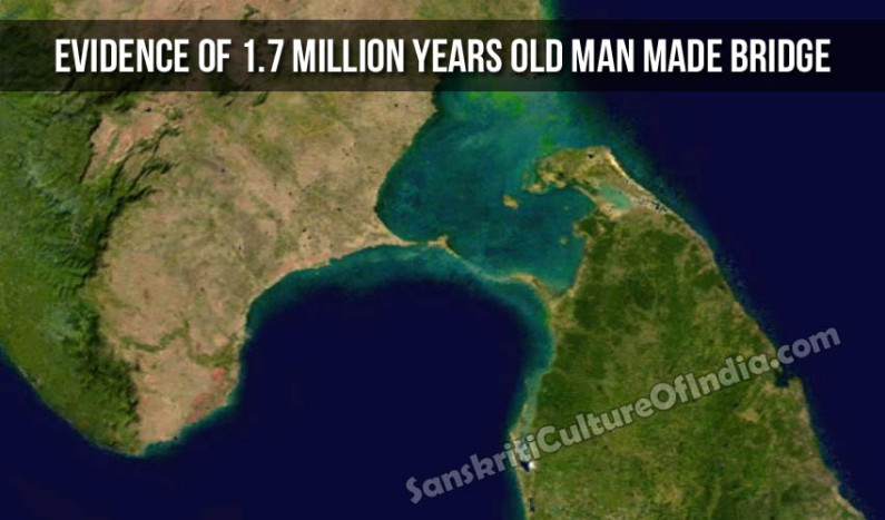 Evidence of 1.7 Million Years Old Man Made Bridge