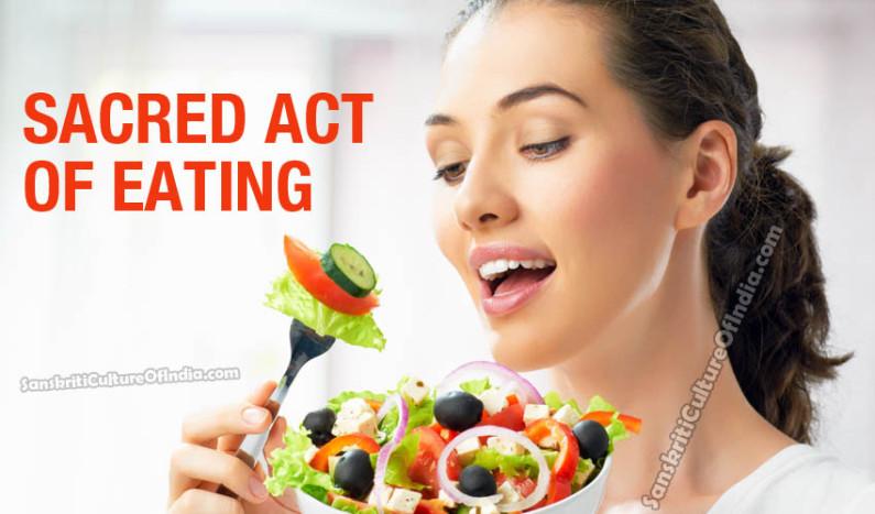 Sacred Act of Eating
