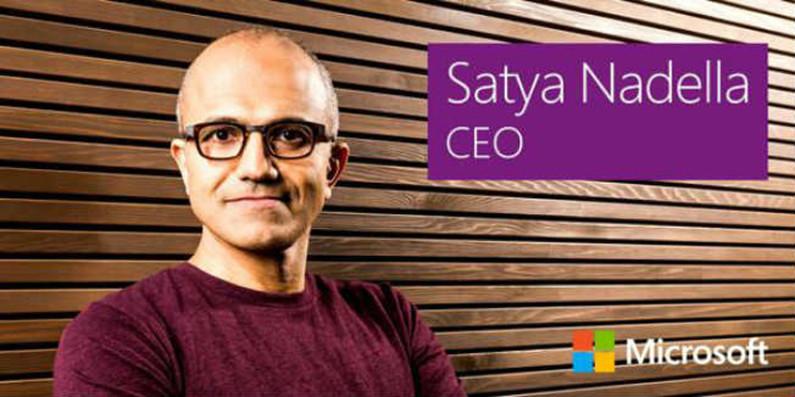 Microsoft names Satya Nadella to replace Steve Ballmer