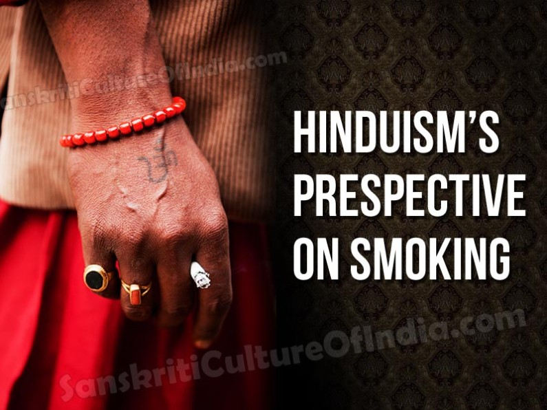 Hinduism's Perspective on Smoking
