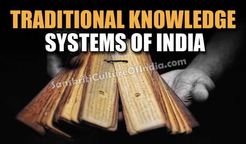 Traditional Knowledge Systems of India