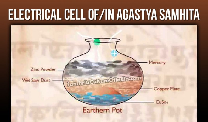 Electrical Batteries in Ancient India