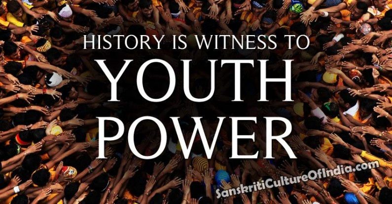 History Is Witness To The Youth Power