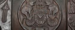 Gajalaxmi_-_Medallion_-_2nd_Century_BCE_-_Red_Sand_Stone_-_Bharhut_Stupa_Railing_-_Madhya_Pradesh_-_Indian_Museum_-_Kolkata_2012-11-16_1845