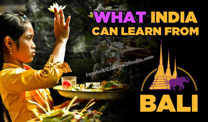 What India Can Learn From Bali