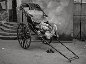 brahmin rickshaw puller