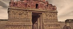 broken Krishna temple