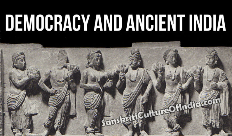 Democracy and Ancient India