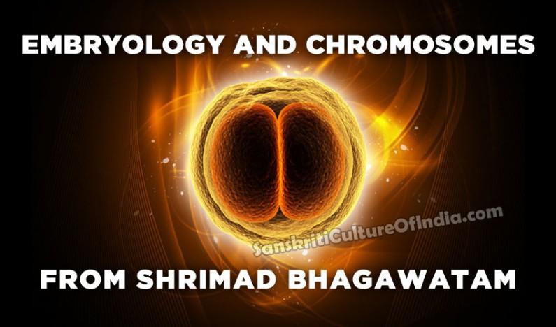 Embryology in Shrimad Bhagawatam