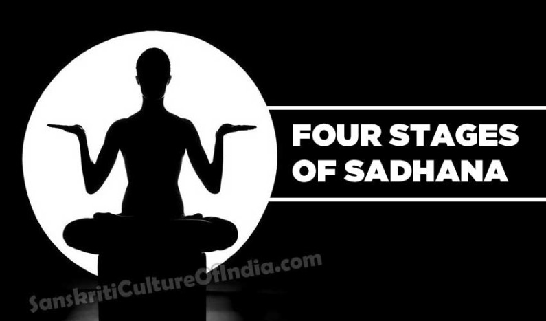 The Four Stages of Sadhana