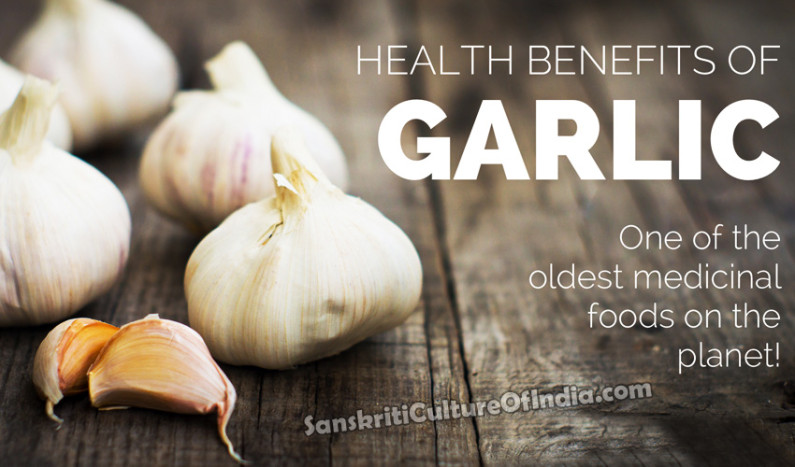 Garlic: One of the Oldest Medicinal Food