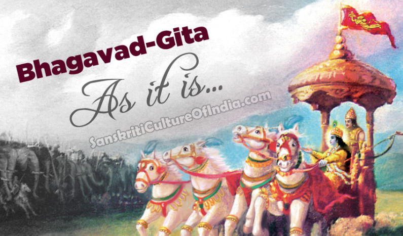 Bhagavad-Gita:  As It Is
