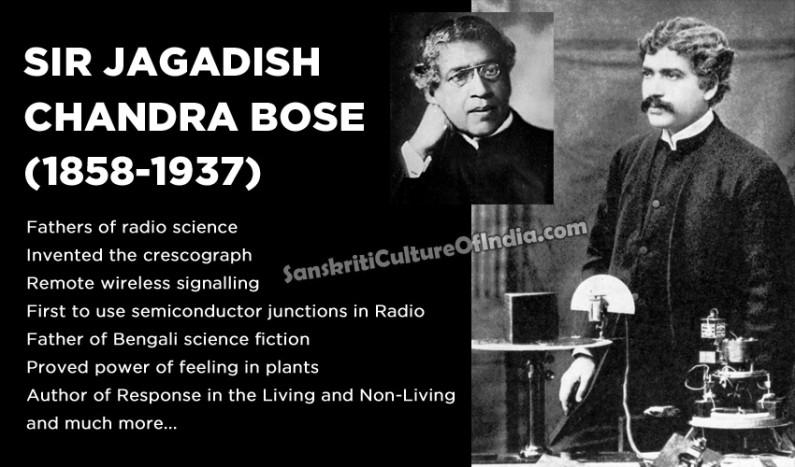 Jagadish Chandra Bose:  Physicist Turned Plant Biologist