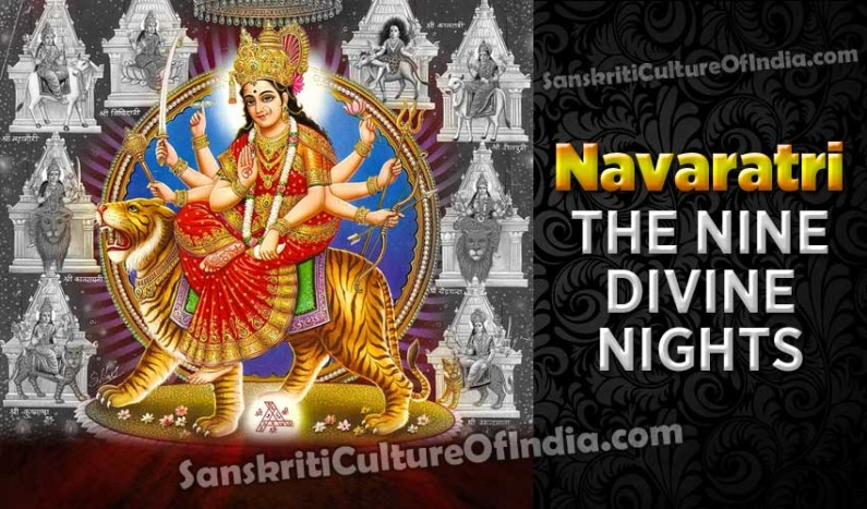 Navaratri:  The Nine Divine Nights!